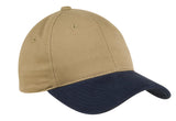 Top Headwear Two-Tone Brushed Twill Cap