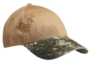 Top Headwear Embroidered Camouflage Cap