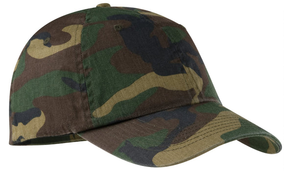 Top Headwear Camouflage Baseball Cap