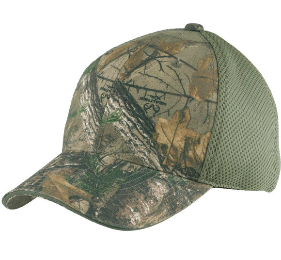 Top Headwear Camouflage Cap w/ Air Mesh