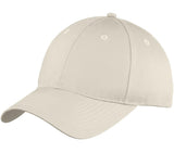 Top Headwear Six-Panel Unstructured Twill Cap