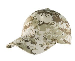 Top Headwear Digital Ripstop Camouflage Cap