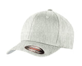 Top Headwear Flexible Wool Blend Cap