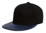 TopHeadwear Adjustable Two-Tone Cap with Gator Print Bill