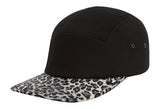 TopHeadwear Print Cotton Five-Panel Jockey Cap