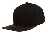 TopHeadwear Graphite Two-Tone Adjustable Snapback - Black