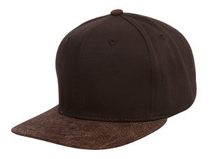 TopHeadwear Graphite Two-Tone Adjustable Snapback