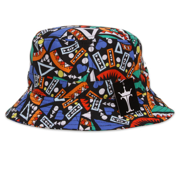 TopHeadwear Print Bucket Hats - Tribal