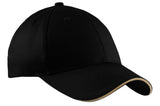 Top Headwear Sandwich Bill Cap