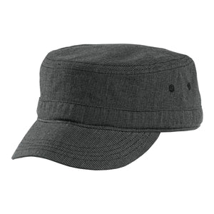 Top Headwear Houndstooth Military Hat