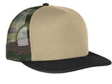 Top Headwear Flat Bill Snapback Trucker Cap