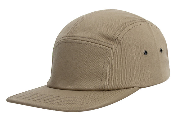 TopHeadwear Plain Cotton Five-Panel Jockey Cap