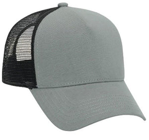TopHeadwear Jersey Knit Five Panel Pro Style Mesh Back Caps