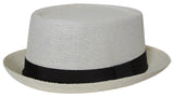 Topheadwear Mens Pork Pie Fedora Hat