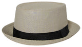 Mens Pork Pie Fedora Hat