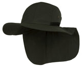 TopHeadwear 4 Panel Large Bill Flap Sun Hat