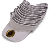 Topheadwear Blank Adjustable Visors - 12-Pack