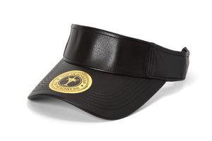 TopHeadwear Vegan Leather Adjustable Visors