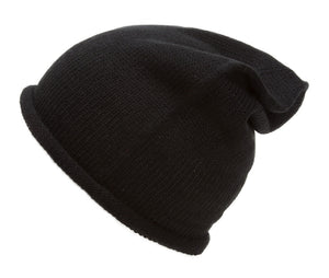 Topheadwear Winter Oversized Slouchy Beanie - Black
