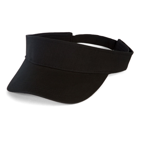 TopHeadwear Summer Cotton Sun Visor, Black