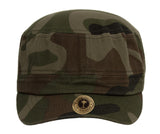TopHeadwear Cotton Adjustable Cadet Caps