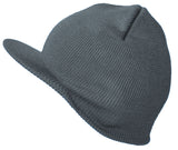 Topheadwear Cuffless Beanie Visor Jeep Cap - Various Colors Available