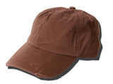 TopHeadwear Distressed Style Vintage Adjustable Closure Hat