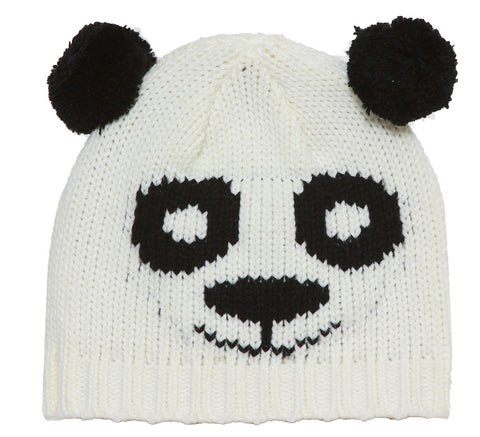 Youth Panda Bear Beanie
