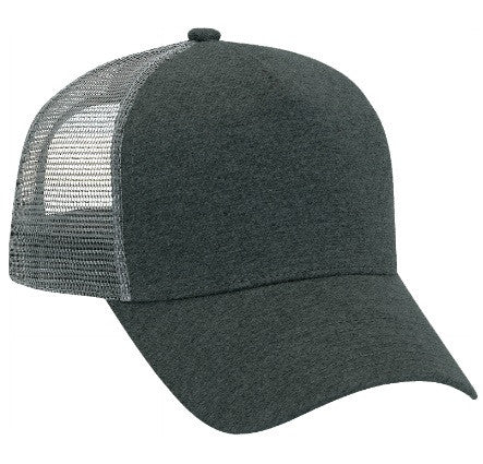TopHeadwear Jersey Knit Five Panel Mesh Back Caps