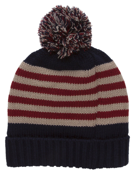 TopHeadwear United States Of America Pom Beanie