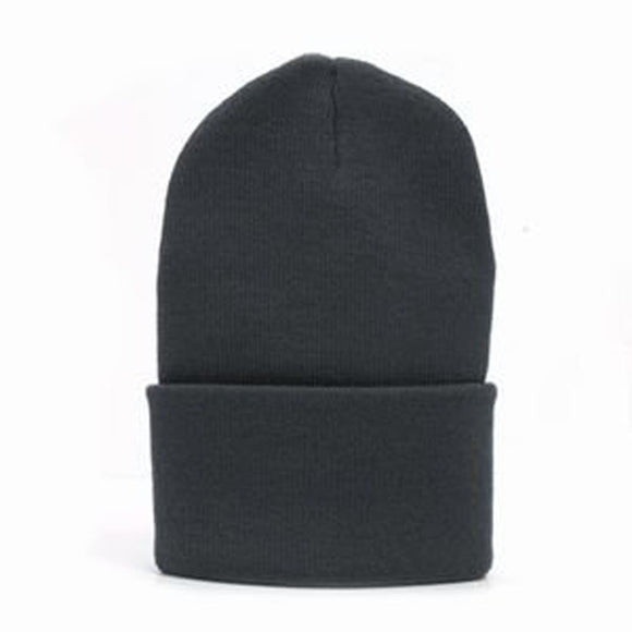 Solid Winter Long Beanie