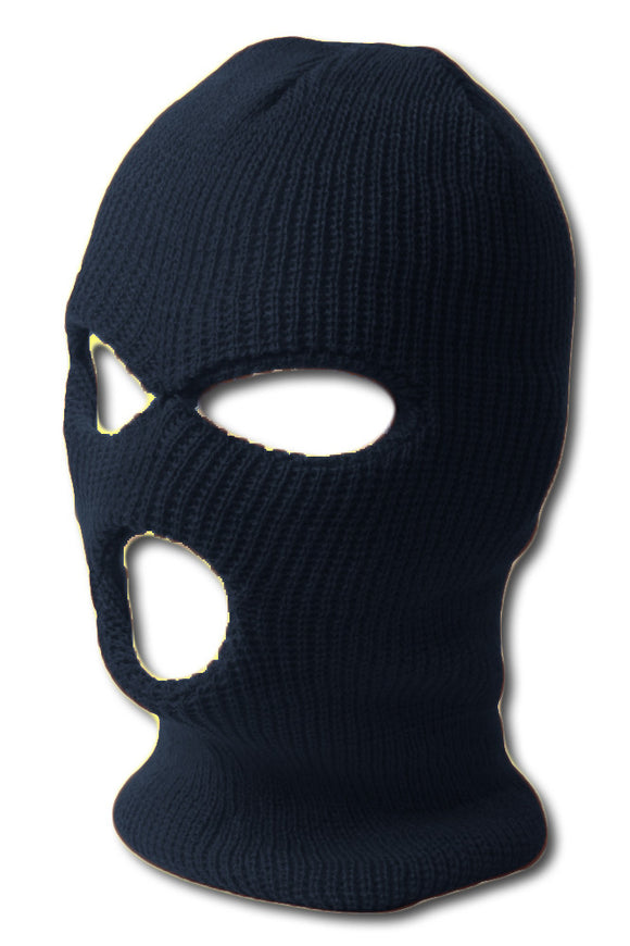 TopHeadwear's 3 Hole Face Ski Mask, Navy