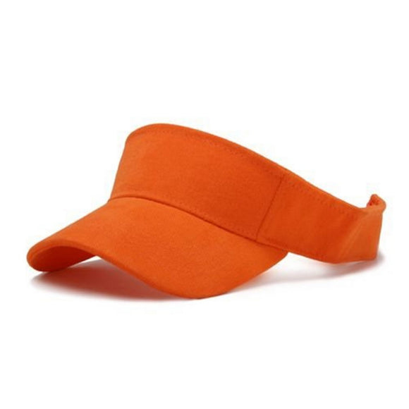 TopHeadwear Orange Adjustable Visor