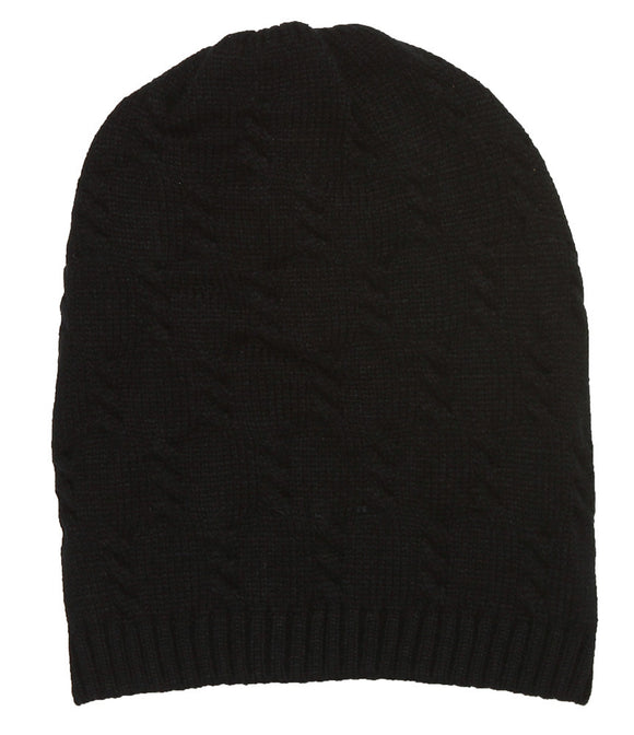 Winter Knitted Short Cuff Beanie