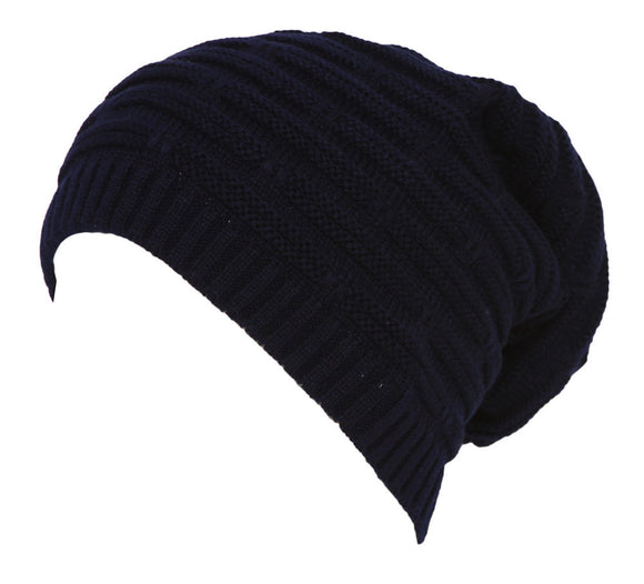 Topheadwear Winter Knitted Slouch Beanie