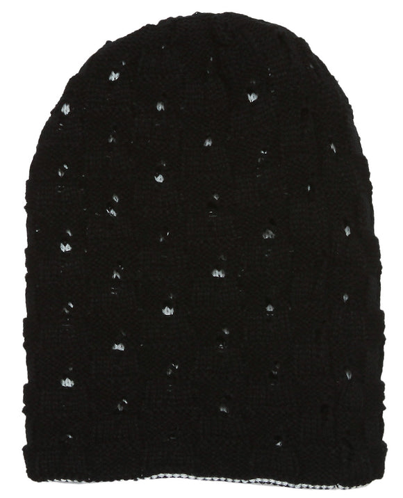Winter Knitted Reversable Beanie