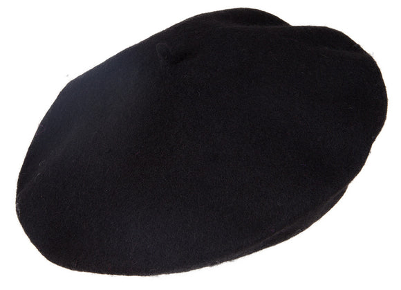 TopHeadwear 100% Wool Fashion Knit Beret