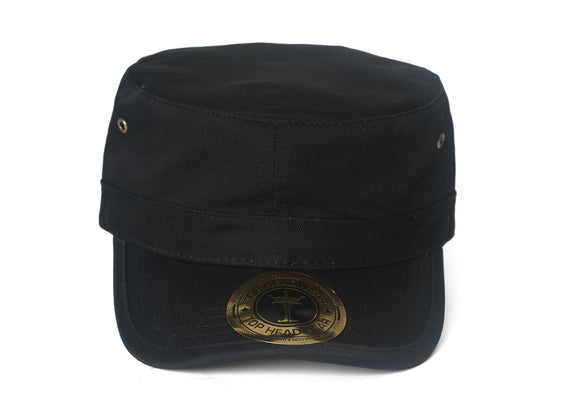 TopHeadwear GI Brass Adjustable Cadet Cap