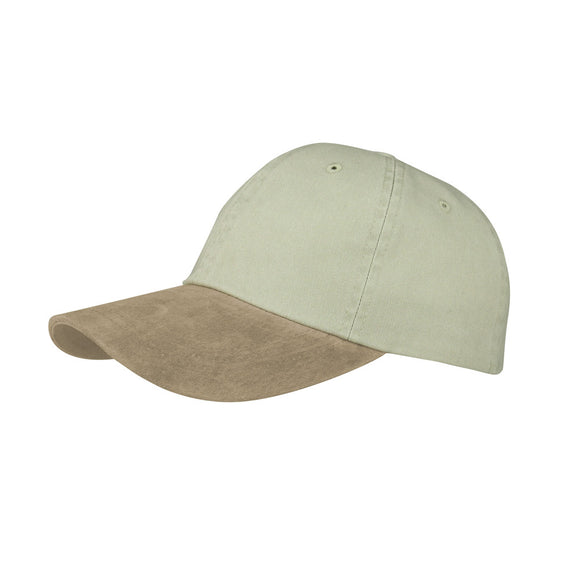 TopHeadwear Washed Pigment Dyed Twill w/ Suede Bill