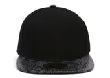 TopHeadwear Snake Print Adjustable Snapbacks