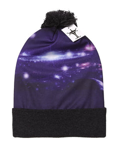 TopHeadwear Sublimation Cuffed Beanie - Galaxy 1000