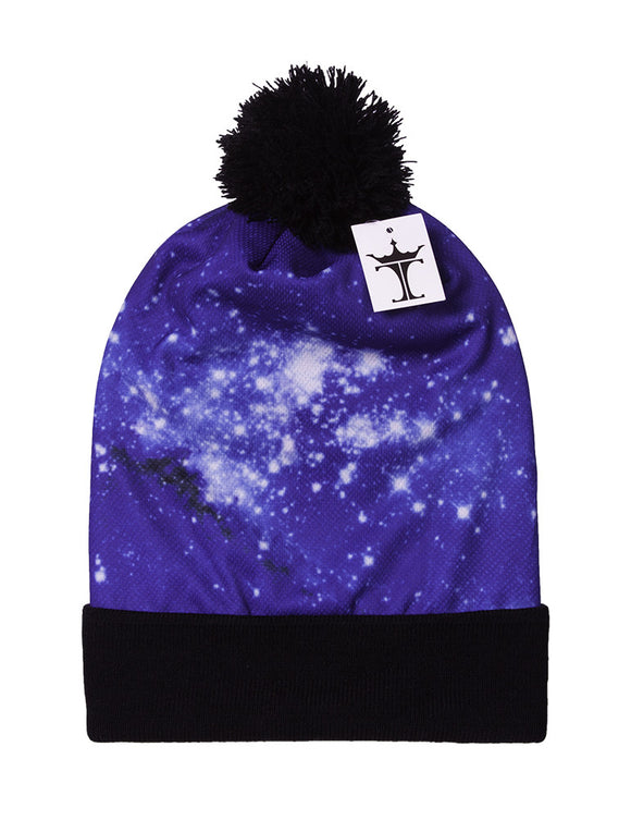 TopHeadwear Sublimation Cuffed Beanie - Galaxy 400