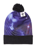 TopHeadwear Sublimation Cuffed Beanie - Galaxy 600