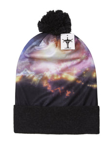 TopHeadwear Sublimation Cuffed Beanie - Galaxy 700