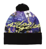 TopHeadwear Sublimation Cuffed Beanie - Los Angeles
