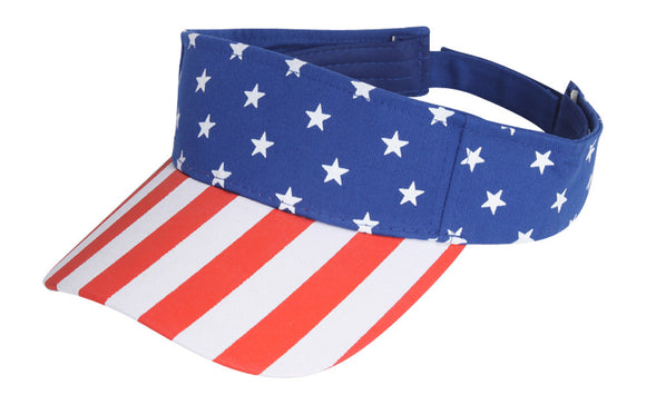 TopHeadwear USA Stars and Stripes Visor