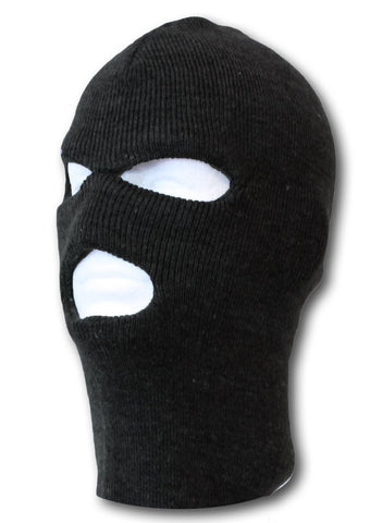 TopHeadwear Face Ski Mask 3 Hole (Many Colors)