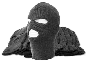 TopHeadwear 3-Hole Winter Ski Mask