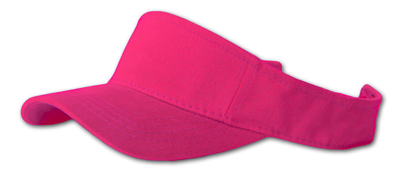 TopHeadwear Sports Visor- Hot Pink