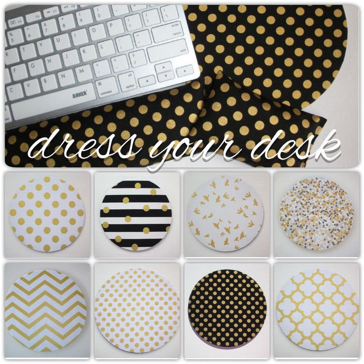 metallic gold desk set - mouse pad, keyboard rest, and mouse wrist rest - Pick your own pattern - mousepad set coworker gift Desk cubical Accessories - In His Name